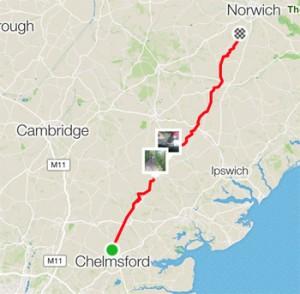 BikeRide-Route